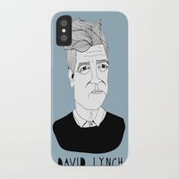 lynch iPhone & iPod Cases featuring David Lynch by Elena Éper