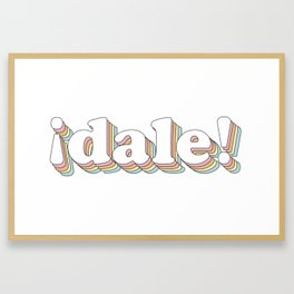 Dale Framed Art Print