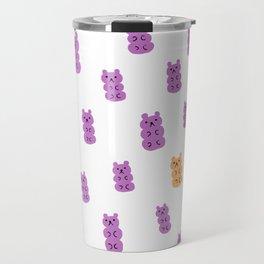 Gummy Bears Grape Flavor Travel Mug