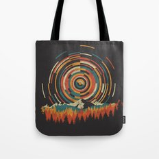 The Geometry of Sunrise Tote Bag