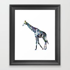 Giraffe 2 Framed Art Print