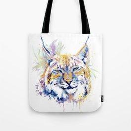 Bobcat Head Tote Bag