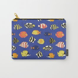 Exotic School Of Reef Fish Carry-All Pouch