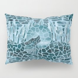 Moonlight Story (Light Blue) Pillow Sham