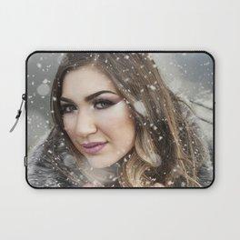snowy portrait Laptop Sleeve