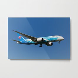 China Southern Airlines Boeing 787 Metal Print