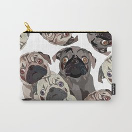 Pug Nation Carry-All Pouch