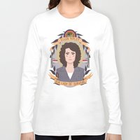 ripley Long Sleeve T-shirts featuring Ellen Ripley by heymonster