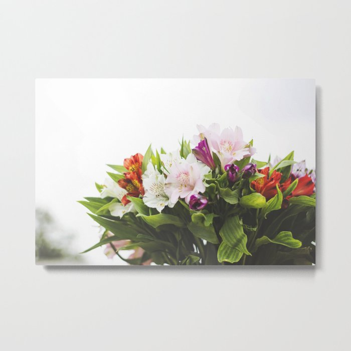 Lilies1 Metal Print