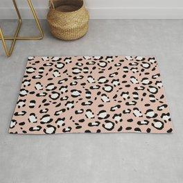 Leopard Animal Print Glam #12 #pattern #decor #art #society6 Rug