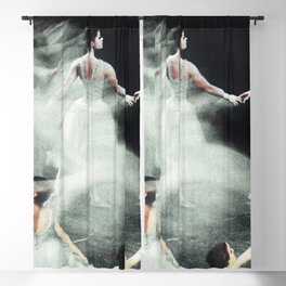 Ghost Dance, Vintage Ballet Blackout Curtain