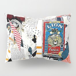 The Lion in the Coffee Mug Pillow Sham
