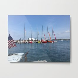 The World Volvo Racers Metal Print
