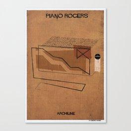 011_Archiline- piano-rogers Canvas Print