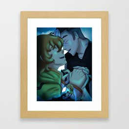Here Comes a Thought Shidge Framed Art Print