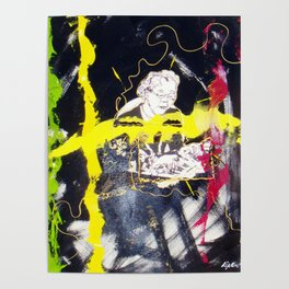 Emanual Ax   `BEETHOVEN : Moonlight Sonata'      by Kay Lipton Poster