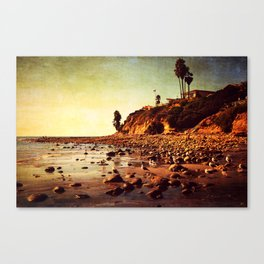 Where the awareness of existence is immensely heightened Canvas Print