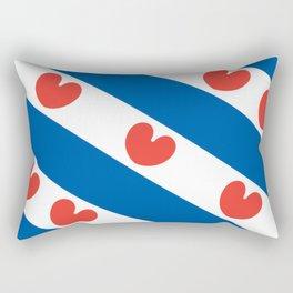 Flag of Friesland Rectangular Pillow
