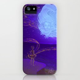 Merge with the Universe iPhone Case