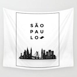 Sao Paulo Wall Tapestry