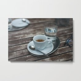 Coffee & Tea 02 Metal Print