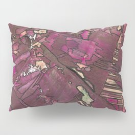 Feminine Energy Abstract Geometric Painting Pillow Sham