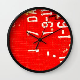 End of Days Convenience Wall Clock