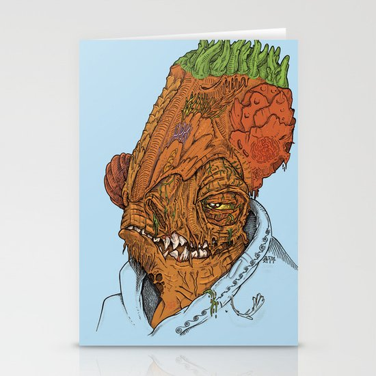 It's A Trap Stationery Cards