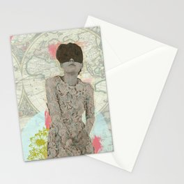 Feminine Collage I Stationery Cards