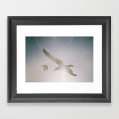 We are free Framed Art Print