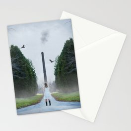 Tree Line Future Stationery Cards