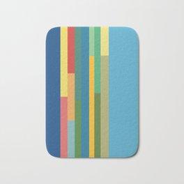 Color Stripes Bath Mat