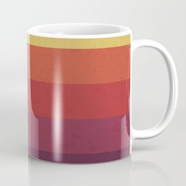 Retro Video Cassette Color Palette Coffee Mug