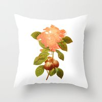 botanical Throw Pillows featuring Botanical by CAB Architects