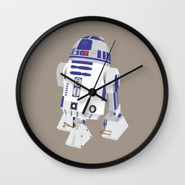 R2-D2 (Vector Art) Wall Clock