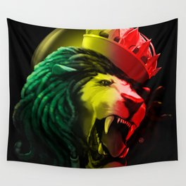 Warrior Of Dignity  Wall Tapestry