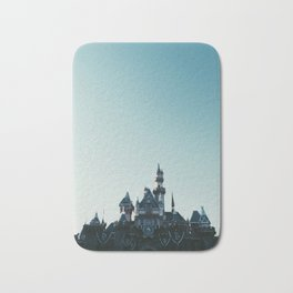 Disneyland at Dusk Bath Mat