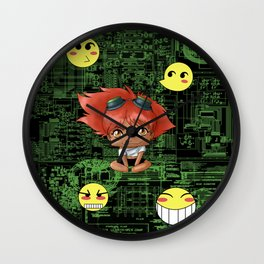 Chibi Edward Wall Clock