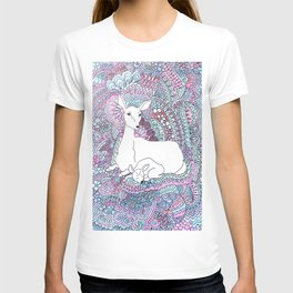 Deer and fawn T-shirt