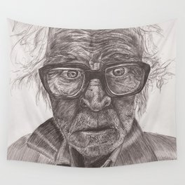 Heavy glasses Wall Tapestry