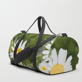 Daisies in a Blur Duffle Bag