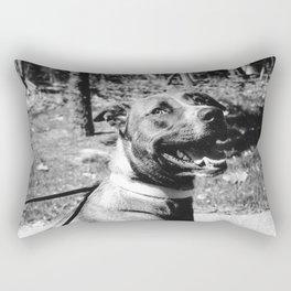 Happy Pup Rectangular Pillow