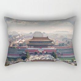 Historically Charged Forbidden City Beijing China Asia Ultra HD Rectangular Pillow