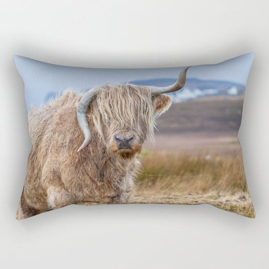 Moo? Rectangular Pillow