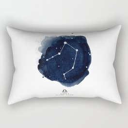 Zodiac Star Constellation - Libra Rectangular Pillow