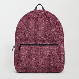 Deep Blush Glitter Backpack