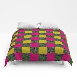 Yellow Patchwork Comforters