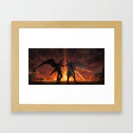 Good Omens Framed Art Print