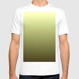 Yellow Olive Green Backgrund T-shirt