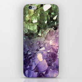 Two Tone Crystal Geode iPhone Skin